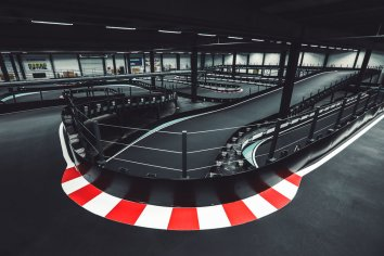 Indoor Karting Race Track
